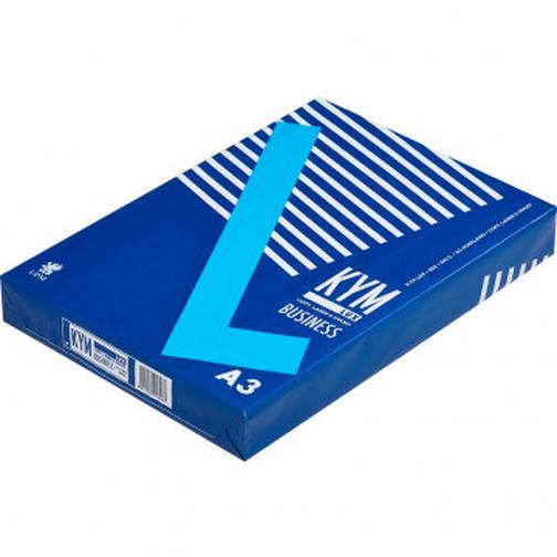 Бумага для ОфТех KYM LUX Business (А3,80г,164%CIE) пачка 500л. 37844977