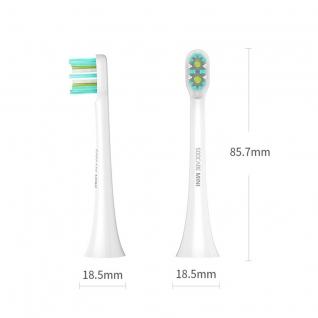 Сменные насадки для зубной щетки Xiaomi Soocare X3 CLEAN (белые) Xiaomi Soocare X3 Mini