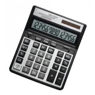 Калькулятор настольный ПОЛНОРАЗМЕРНЫЙ CITIZEN бухг. SDC-760 N 16 разр.DP