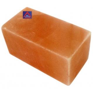 Блок гималайской соли 200х100х100 мм для бани и сауны (все стороны гладкие, арт. SZ2)