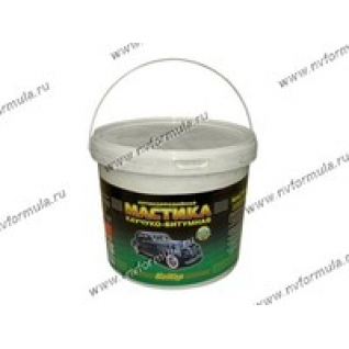 Антикоррозийная Мастика Бикар 5,0л каучуко-битумная