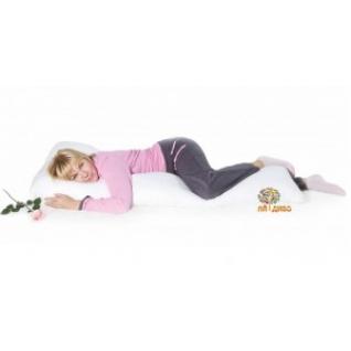 """Подушка для беременных и кормящих мам """"Гармония"""" Г - форма, 200 х 35 см."""