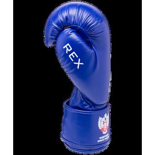 Перчатки боксерские Green Hill Rex Bgr-2272, 12 Oz, синий