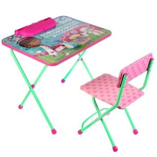Набор Детской Мебели Дисней Доктор Плюшева (Стол 520+Пенал+Стул Мягкий)
