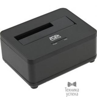 "AgeStar AgeStar 3UBT7 (BLACK) Докстанция 2,5""/3,5"" SATAIII AgeStar 3UBT7 (BLACK) USB 3.0, пластик, черная"