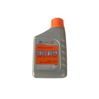Тормозная жидкость HYUNDAI DOT3 0.5л 0110000A00