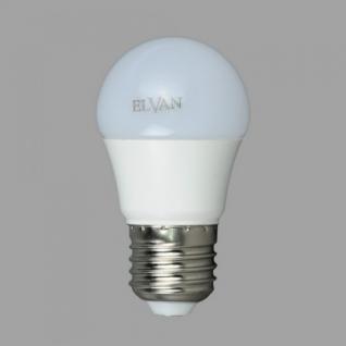 Elvan E27-7W-G45-3000K Лампа LED