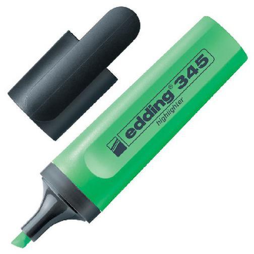 Маркер выделитель текста EDDING E-345/11 зеленый 1-5мм 37849006 2