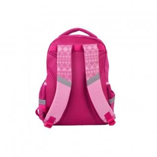 Рюкзак школьный с пикси-дотами (розовый) Gulliver рюкзаки