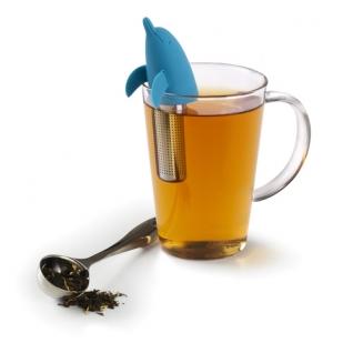 Ёмкость для заваривания чая Dolphin голубая