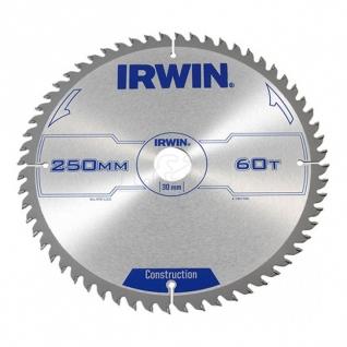 Диск пильный Irwin Aluminium 250x2.5x80Тх30/20/16 мм по цветным металлам, пластику