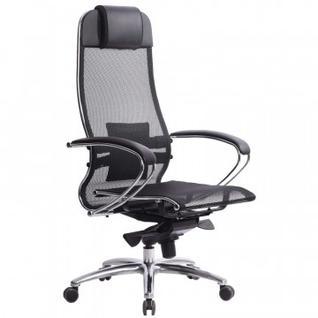 Кресло MT_Samurai S-1.03, арм. сетка черная (033011024)