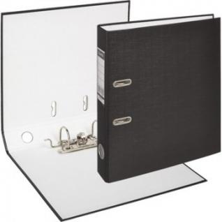 Папка-регистратор BANTEX ECONOMY, 1447-10, б/мет.уг., 50мм, черный