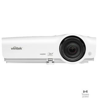 Vivitek Vivitek DX281ST 813097023353 короткофокусный проектор DLP, XGA (1024x768), 3000 Lm, 15000:1, 0.63:1, HDMIx2, 5,000/7,000/10,000 часов, +-40 град, 2Вт., 2,6 кг, 3D-ready