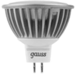 Gauss Лампа Gauss LED MR16 GU5.3 5W 4100K 1/10/100