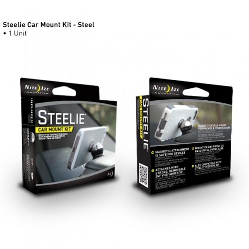 Универсальный автомобильный держатель Nite Ize STEELIE Car Mount Kit Nite Ize 36991131