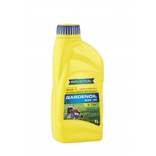 Моторное масло Ravenol 4-Takt Gardenoil HD 30 1л