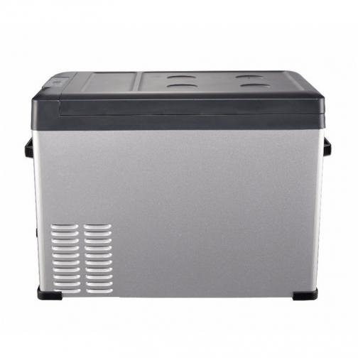 Kомпрессорный автохолодильник ALPICOOL C50 черный (50л, 12/24/220В) 36995008 1
