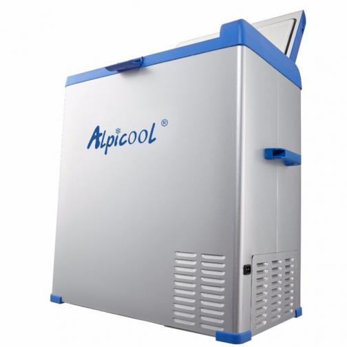 Kомпрессорный автохолодильник ALPICOOL ABS-75 синий (40л, 12/24/220В) 36971689 3