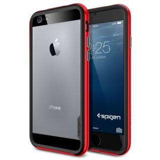 Бампер для iPhone 6 Neo Hybrid EX цвет Dante Red (SGP11025)