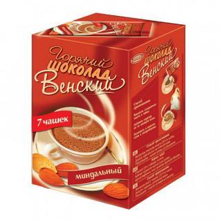 Горячий шоколад ВЕНСКИЙ миндальный (7 пак х 20гр)
