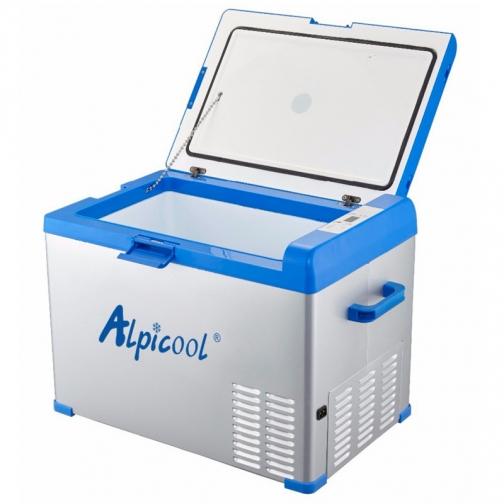 Kомпрессорный автохолодильник ALPICOOL A40 синий (40л, 12/24/220В) 36995013