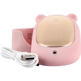 Виброочиститель пор для лица Bear (Розовый) Gsmin