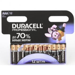 Батарейки DURACELL Professional ААА/LR03 бл/12шт