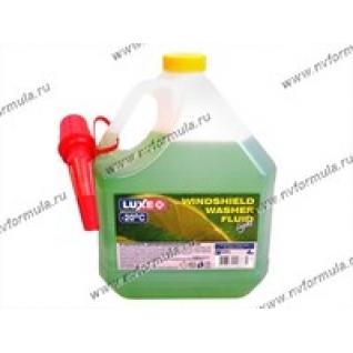 Жидкость незамерзающая LUXE 4л до -20 Лайм