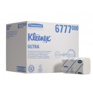Полотенца бумажные д/дисп KK Kleenex Ultra 2сл бел Sслож 124 лист 30 пач. 6