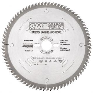 Диск пильный форматный с положительным углом врезания CMT 281.080.10M