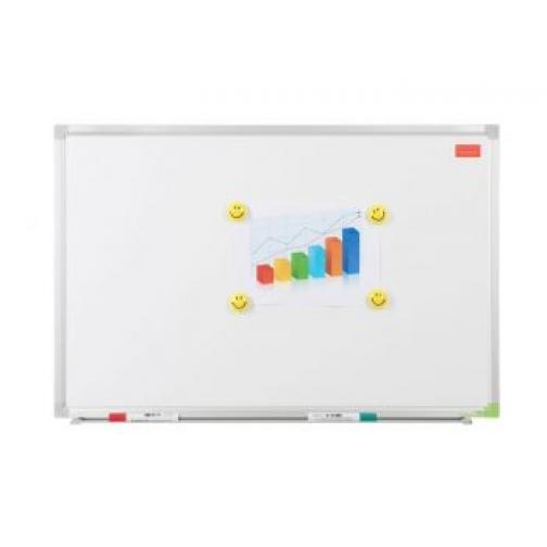 Доска белая магнитно-маркерная Office Level 150х100 см., лаковое покрытие 863483