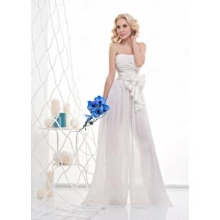 Платье свадебное  Короткие свадебные платья⇨Свадебное платье-брюки