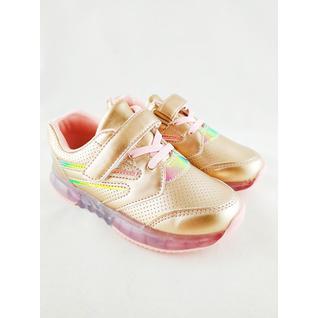 YS3-2A кроссовки для девочки золото мышонок р.26-31 (29) Мышонок
