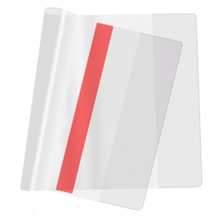 Обложка д/учеб,мл.кл,цв.закладка,230х365,ПВХ,110мкм, 10шт/уп.