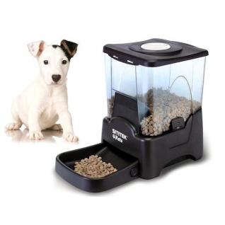 Автокормушка SITITEK Pets Tower-10 для кошек и собак (10л, 4 кормления)