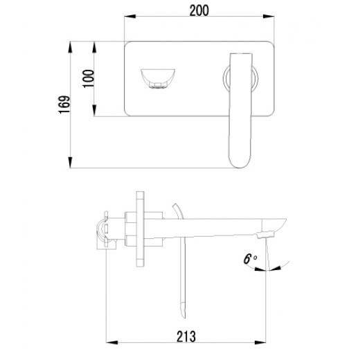 Однорычажный смеситель Lemark Melange LM4926CW 6691388 1