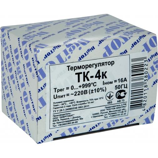 Терморегулятор DigiTOP ТК-4к (крепление на DIN-рейку) 6775758 3