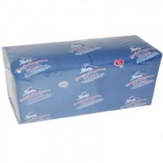 Салфетки Profi Pack 2 сл. 33х33 синие 200 шт./уп.