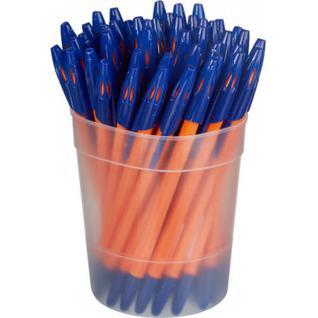 Ручка шариковая Attache 555 0,7 мм синий маслян. основа