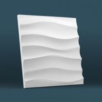 Гипсовая панель LUX DEKORA Волна горизонтальная