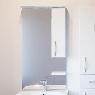 Зеркало Грета 60/1 (Белый) ASB-Woodline