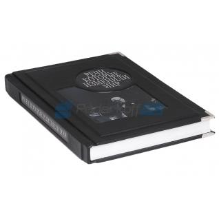 """Книга подарочная в обложке из натуральной кожи """"Речи, которые изменили мир"""""""