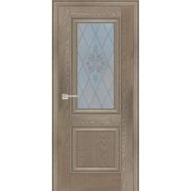Дверное полотно Profilo Porte PSB-27 Цвет Дуб медовый, Дуб гарвард бежевый, Дуб гарвард кремовый, Дуб оксфорд темный, Белый сатинат