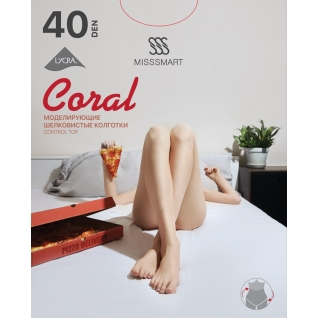 Misssmart Колготки женские. Coral 40 den