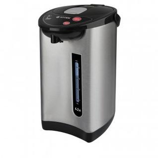 Термопот VITEK7101(MC), 730 Вт, 4.2 л, (нерж.сталь)