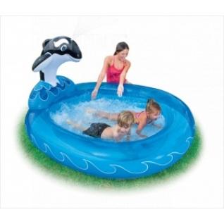 Бассейн детский Дельфин INTEX 57436