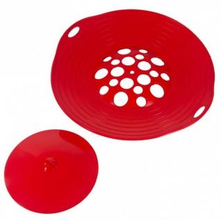 Кухонные аксессуары. Открывалки. Steuber GmbH Крышка - невыкипайка с мини-крышкой в наборе boil over spill quard 2 part NW-051530