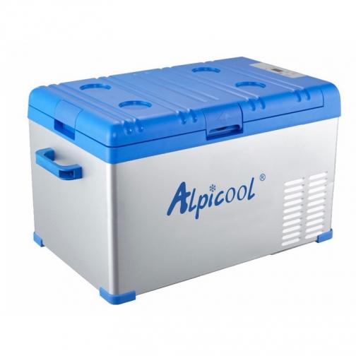Kомпрессорный автохолодильник ALPICOOL ABS-30 синий (30л, 12/24/220В) 36971688 3