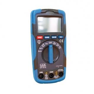 Цифровой мультиметр СЕМ DT-916 481394